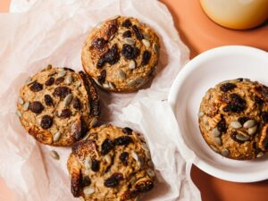 Potato Raisin Muffin