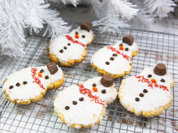 Christmas Snowman Cookie