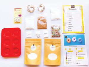 Kids Baked Chocolate Donuts Complete Baking kit